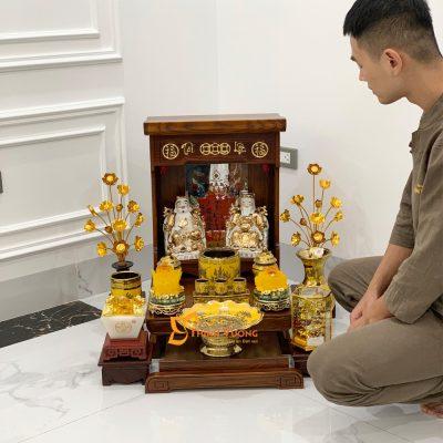 Kích thước bàn thờ thần tài chuẩn là bao nhiêu DDSM41
