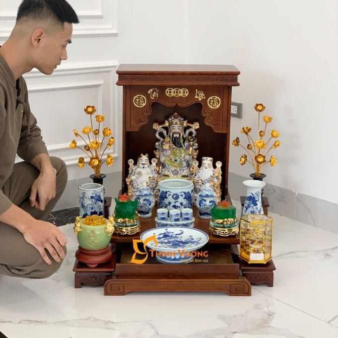 Ban Thờ Thần Tài kiểu dáng hiện đại DDSM41