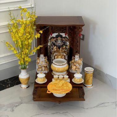Mua bàn thờ thần tài ở đâu đẹp Hà Nội MBG01VD