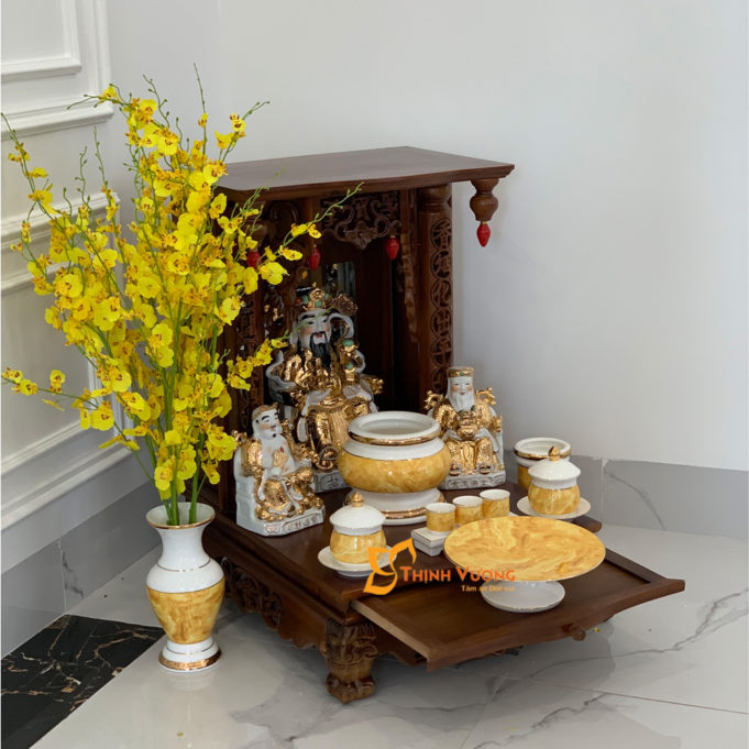 Mẫu bàn thờ ông Thần TàI MBG01VD