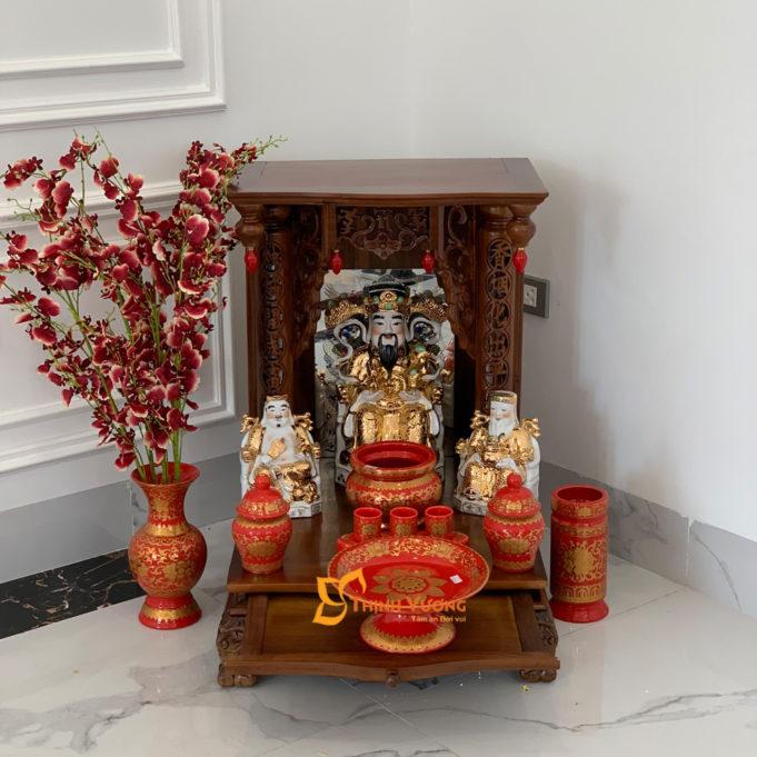 Mẫu ban thờ ông thần tài đẹp rẻ AS MBG41