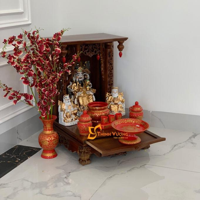 Giá bán bàn thờ ông địa thần tài MBG01GD