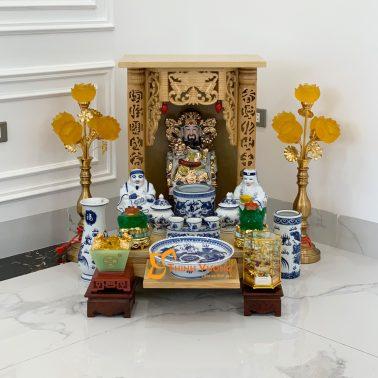 Ban thờ thần tài giá rẻ Hà Nội DUVT01XD2