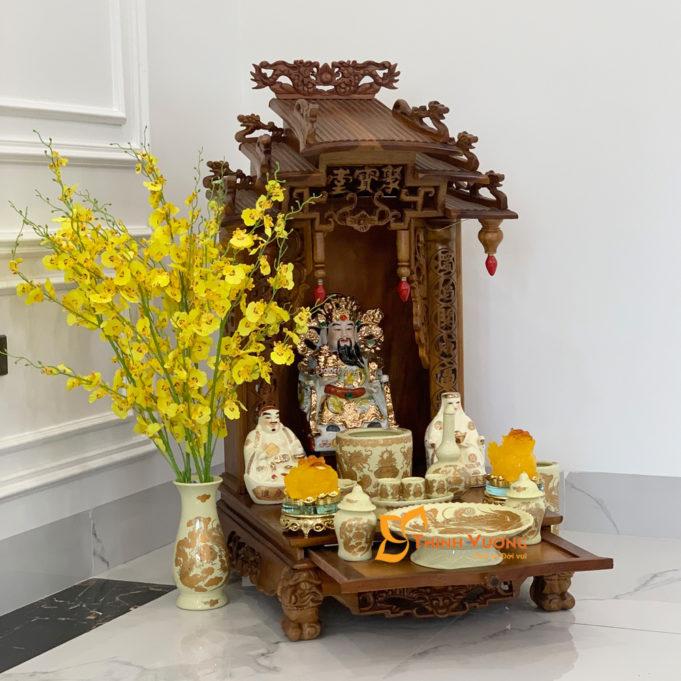 Kích thước bàn thờ thần tài chuẩn BMDG01N