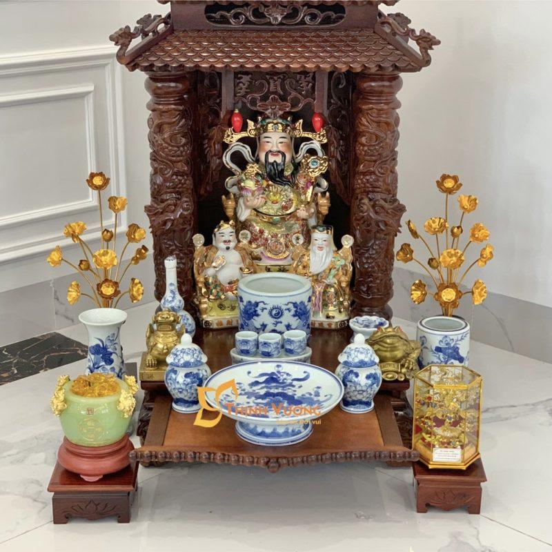 Một số điều quan trọng nên cẩn thận khi vệ sinh bàn thờ Thần Tài