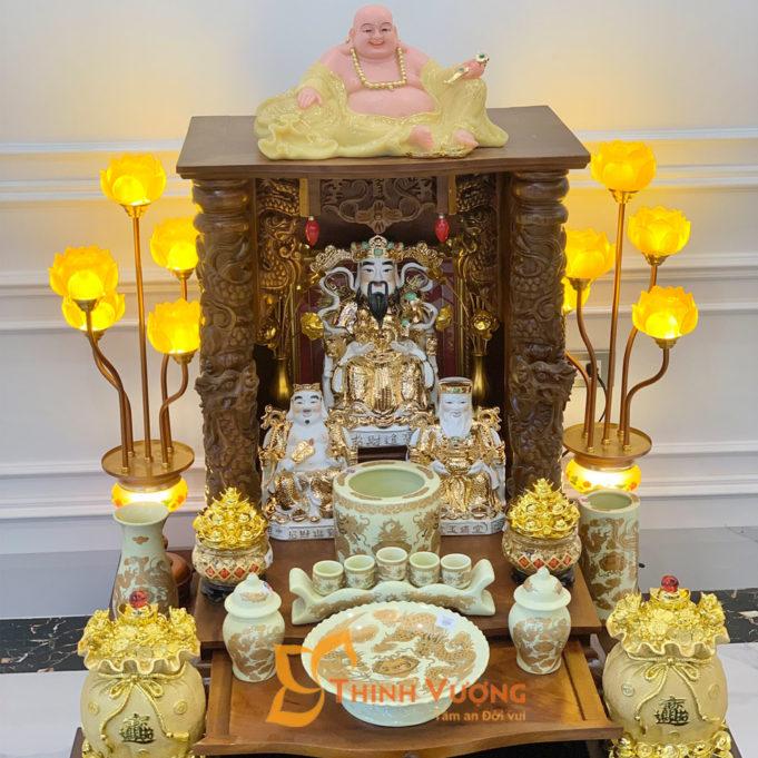 Ưu điểm của bàn thờ thần tài gỗ gụ