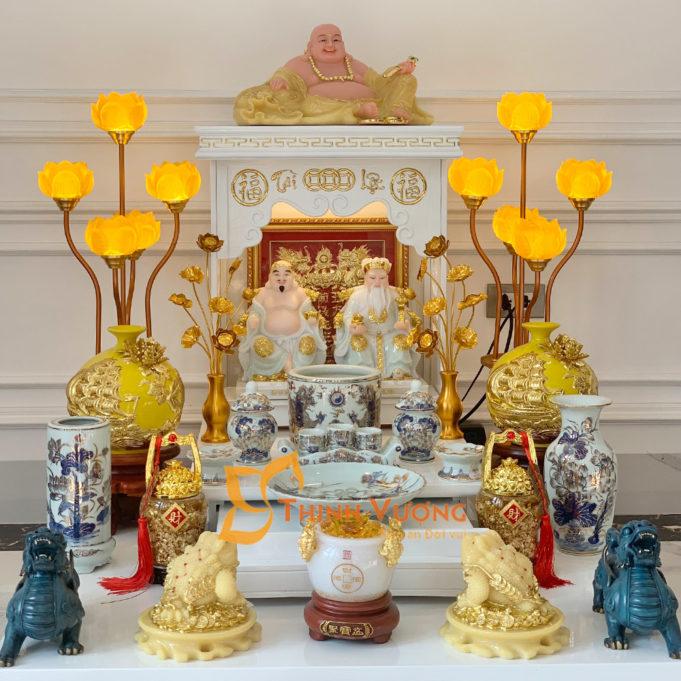 Ý nghĩa của việc đặt bàn thờ thần tài thổ địa
