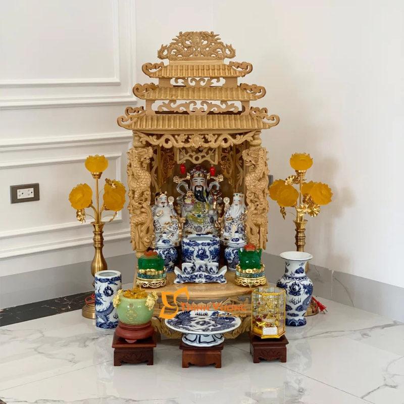 Bán bàn thờ thần tài đẹp