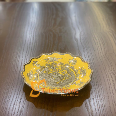Nơi bán đĩa thờ cúng sứ kim sa giá rẻ tại hà nội