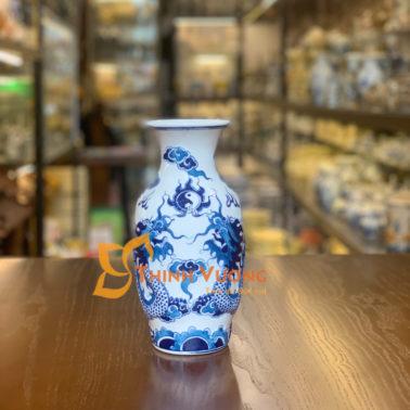 Nơi bán lọ hoa thờ xanh nổi bát tràng đẹp