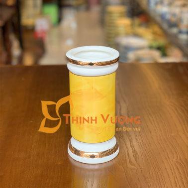 Hà Nội bán ống đựng nhang màu vàng