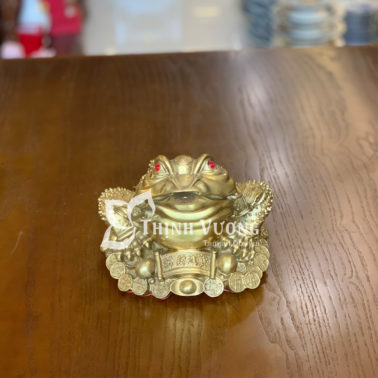 Thiềm thừ phong thuỷ bằng đồng tại Hà Nội