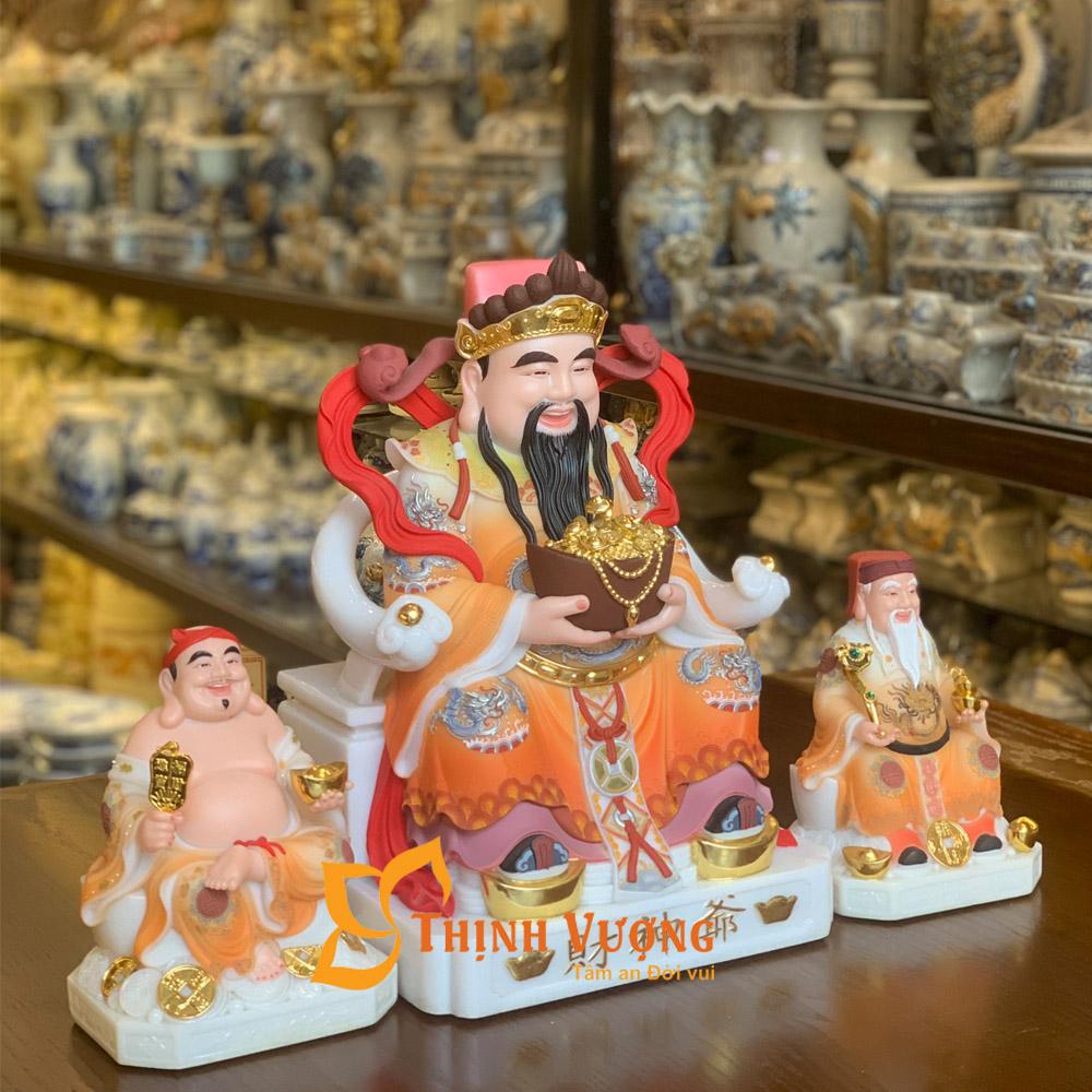 tượng 3 ông thần tài thổ địa đẹp ở Hà Nội