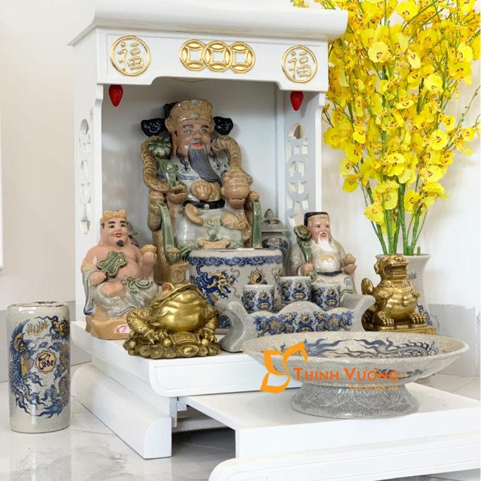 Nơi bán bàn thờ thần tài chung cư đẹp tại Hà Nội