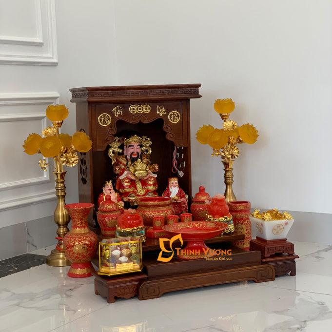 Hướng đặt bàn thờ ông địa theo cung của gia chủ