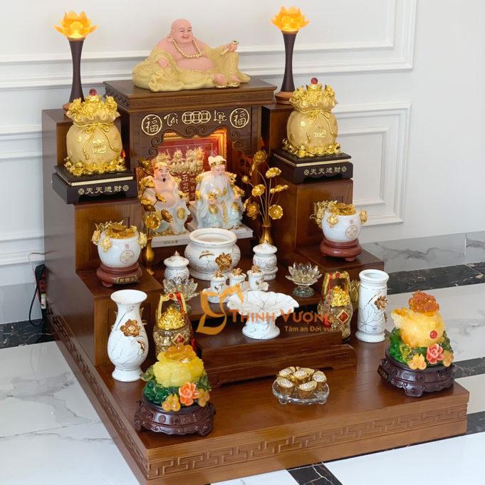 Cách sắp xếp bàn thờ thần tài