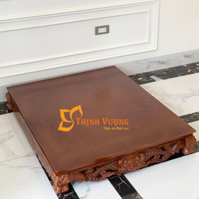 kệ gỗ kê bàn thờ thần tài ở hà nội