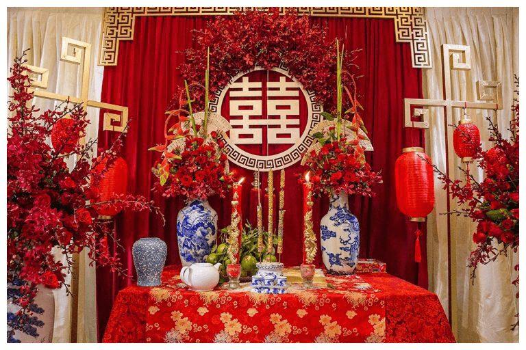 Những lưu ý khi chuẩn bị hoa cắm bàn thờ ngày cưới