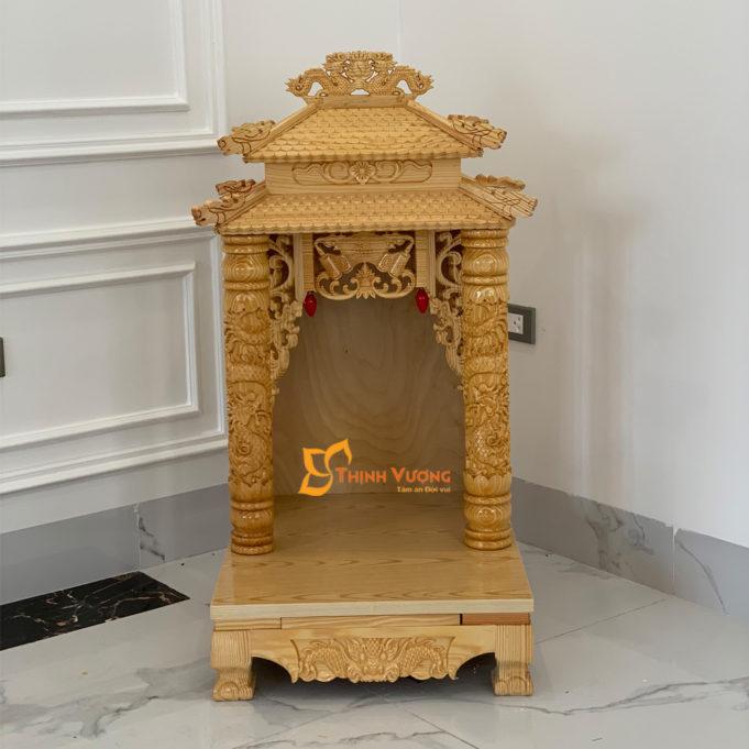 Kích thước bàn thờ thần tài 2 tầng