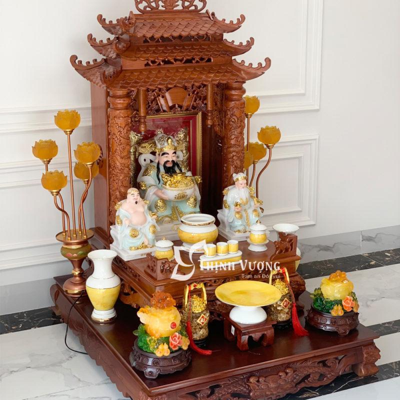 Mua bàn thờ thần tài đẹp