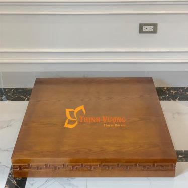 Mẫu kệ gỗ cho bàn thờ thần tài