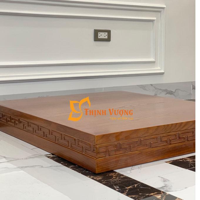 Mẫu kệ gỗ cho bàn thờ thần tài 5